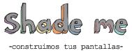 Logotipo de Shade Me