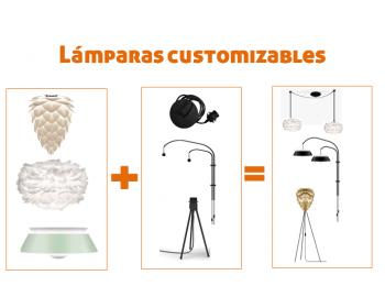 Lámparas customizables