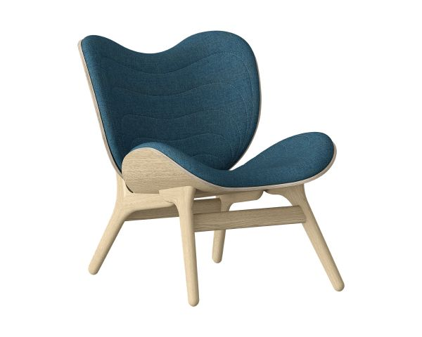 A Conversation Piece - Sillon roble 5505 azul, de Umage