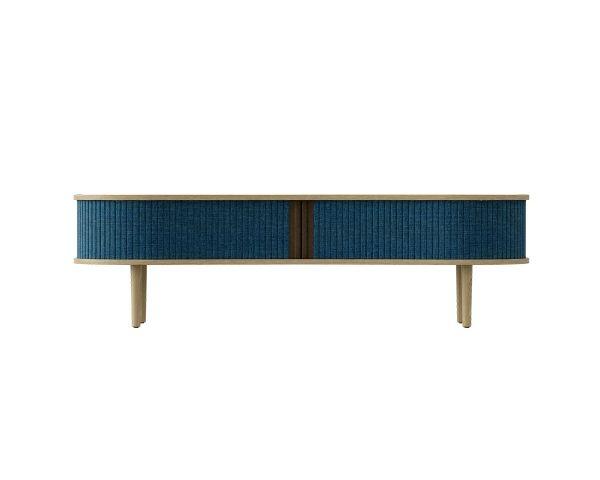 Mueble TV Audacious - Roble + Azul petroleo 5601+5601-1, de Umage 2