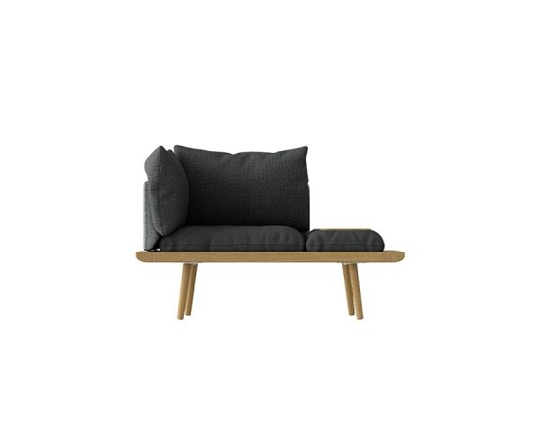 The Lounge Around 1.5 Seater roble 5562, de Umage 2